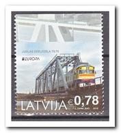 Letland 2018, Postfris MNH, Europe, Bridge, Trains - Letland
