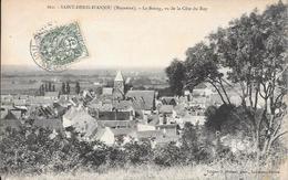 Cpa 53 Saint Denis D'Anjou , Le Bourg Vu De La Côte Du Ray , écrite 1907 - Sonstige Gemeinden