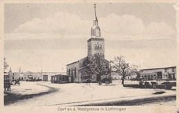 NEUHEIM In L. - LANEUVEVILLE EN SAULNOIS - MOSELLE  (57)  - PEU COURANTE CPA FELDPOST DE 1910. - France