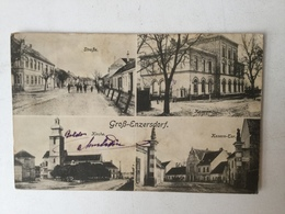 AK   GROSS ENZERSDORF   1917. - Gänserndorf