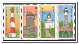 Taiwan 2018, Postfris MNH, Lighthouses - Ongebruikt