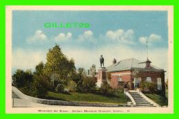RIMOUSKI, QUÉBEC -  MONUMENT DES BRAVES - SOLDIERS MEMORIAL - PECO - - Rimouski
