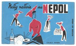 Buvard - Netty Nettoie Au NEPOL  -  C.R.A.C. ROUEN - Pulizia