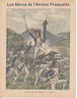 Couverture De Cahier D'Ecolier - Les Héros De L'Armée Française, Général Rampon à Montenotte - Charier - Blotters