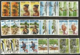 Nouvelle émission Année 1984, 2 Séries Complètes Neuves **  Côte 40,00 Euro - Nauru