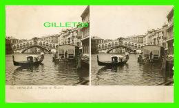 VENEZIA, ITALIA - PONTE DI RIALTO  - FOT. VITO GENERINI - STAMPA CELERE AL BROMURO - - Venezia (Venice)