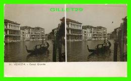 VENEZIA, ITALIA - CANAL GRANDE - FOT. VITO GENERINI - STAMPA CELERE AL BROMURO - - Venezia (Venice)