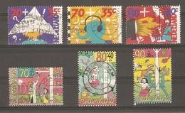 Pays-Bas 1993/4 - Surtaxe Au Profit De L'enfance - 2 Séries Complètes° - 1456/8 (enfants Et Medias) - 1489/91 - 1980-... (Beatrix)