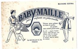 Buvard - BABY MAILLE - Jolis Enfants En Jolie Maille - Ets BOURGAIN & Cie PARIS - Textile & Clothing