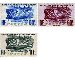 Ref. 207505 * MNH * - ST. PIERRE AND MIQUELON. 1947. DIFFERENT CONTENTS . MOTIVOS VARIOS - St.Pierre & Miquelon