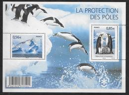 France 2009 Bloc Feuillet N° F4350 Neuf Protection Des Pôles à La Faciale - Blocs & Feuillets