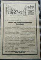 Poster: Feinkost- Und Kolonialwarenhandlungen Deutschlands 1925 - Advertising (Porcelain) Signs