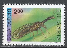 Bulgaria 1993. Scott #3711 (M) Insect, Mayfly * - Bulgarie