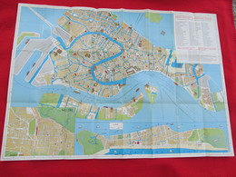 VENEZIA / VENICE ITALY OLD NAUTICAL MAP - Cartes Marines