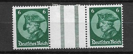 1933 MH Germany, Freddericus, WZ9 - Se-Tenant