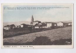TRAMBLY - Le Haut Du Bourg - Colorisée - France