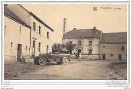 FAUVILLERS ..-- OLDTIMER . La POSTE . Vers SCHAERBEEK ( MAJOR  Eugène TROMME ) . Voir Verso - Fauvillers