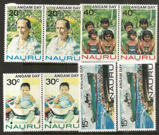 Angam Day Babies Celebration, 2 Séries Neuves ** ILE NAURU (Océan Pacifique) - Childhood & Youth