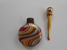 Fiole Ancienne Flacon Ancien  Parfum - ( Pour Sac ? ) - Bottles (empty)
