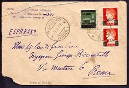 GR1829  - ESPRESSO LUOGOTENENZA - 5. 1944-46 Lieutenance & Humberto II