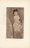 1898 Lithogravure De Félicien Rops - Lithographies