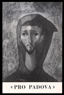 PADOVA - 1950/55 - PIEGHEVOLE ASS. PROPADOVA - ARTE -  Pitture Orlando Tisano E P. Bruno Lorenzon (6 Facciate) - Programmi