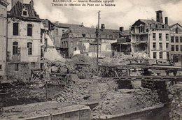 MAUBEUGE  TRAVAUX DE RÉFECTION SUR LA SAMBRE 1914 1918 - France