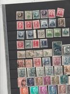 Espagne - Lot Collection 52 Timbres  - Tous états - Spain
