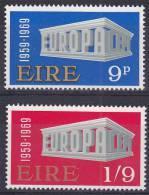 IERLAND - Michel - 1969 - Nr 230/31 - MNH** - 1949-... Republic Of Ireland