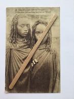CONGO BELGE «  Nº 26 FILLES DE GRANDS CHEFS DE L'URUNDI « Superbe Jeune Filles (1931) Timbre Congo Belge . - Congo Belga - Altri