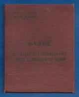 GUIDE MILITAIRE À L'USAGE DES COMMANDANTS D'UNITÉS DE REPARATION DU MATERIEL - 1956 ALGER MAINTIEN DE L'ORDRE 186E Cie - Autres