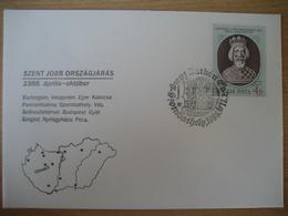 Ungarn/Magyar- Beleg Szent Jobb Orszagjaras, Szombathely 1988 - Ungheria