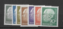 1956 MNH Bundesrepublik - [7] Federal Republic