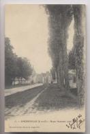 ANGERVILLE (91 - Essonne) - 1904 - Route Nationale Côté Nord - Angerville