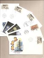 USA - 5 Buste Con Annulli Speciali E 5 Cartoline: Missione Skylab III° - 1973/4 * G - FDC & Commémoratifs