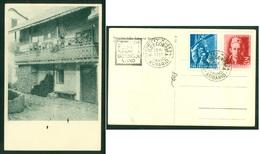 Yugoslavia 1951 Kobarid Vrsno Simon Gregorcic His Native House Card Opening Museum Slovenia - 1945-1992 Repubblica Socialista Federale Di Jugoslavia