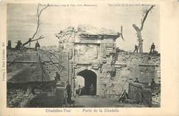 STRASBOURG - Photo Du Bombardement Du 3 Octobre 1870- Porte De La Citadelle - Strasbourg