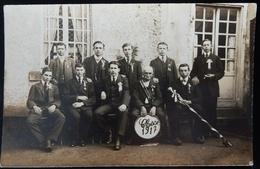 69 CPA CUBLIZE CARTE PHOTO CONSCRITS 1917 - Sonstige Gemeinden