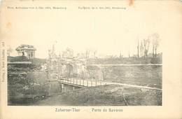 STRASBOURG - Photo Du Bombardement Du 3 Octobre 1870- Porte De Saverne - Strasbourg