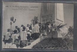 Carte Postale 55. Argonne Monseigneur Ginisty Donnant La Bénédiction Très Beau Plan - France