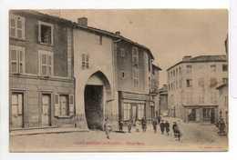 - CPA SAINT-MARTIN-LA-PLAINE (42) - Hôtel Bessy 1904 (avec Personnages) - Edition R. BRUNEL - - Autres Communes