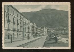 CASTELLAMMARE DI STABIA - NAPOLI - 1937 - CORSO GARIBALDI - FORMATO GRANDE - Castellammare Di Stabia