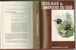 1969/70 OISEAUX De L'Amérique Du Sud, édité Au Pays-Bas. Nombreuses Et Belles Gravures D'après John GOULD Jacquette TBE - Animaux