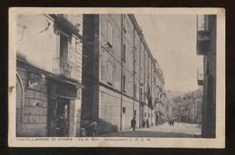 CASTELLAMMARE DI STABIA - NAPOLI - 1936 - VIA BRIN - DISTACCAMENTO CREM - Castellammare Di Stabia