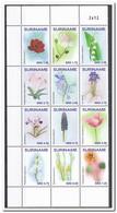 Suriname 2016, Postfris MNH, Flowers - Suriname