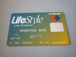 Israel Eurocard Europay Mastercard Bank Lifestyle Member Card (McDonalds McDonald's) - Geldkarten (Ablauf Min. 10 Jahre)