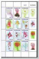 Suriname 2017, Postfris MNH, Flowers - Suriname