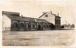 CPA - LANDRECIES (59) - Aspect De La Gare Dans Les Années 30 à 50 - Landrecies