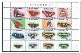 Suriname 2017, Postfris MNH, Butterflies - Suriname