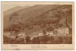 ANDORRE - Farga De Moles - Frontière - Andorre